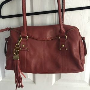 Tiganello leather hand bag